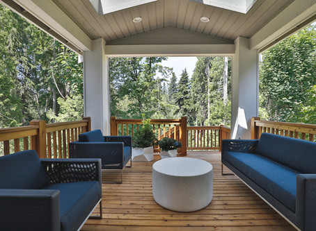Stylish Outdoor Living Space