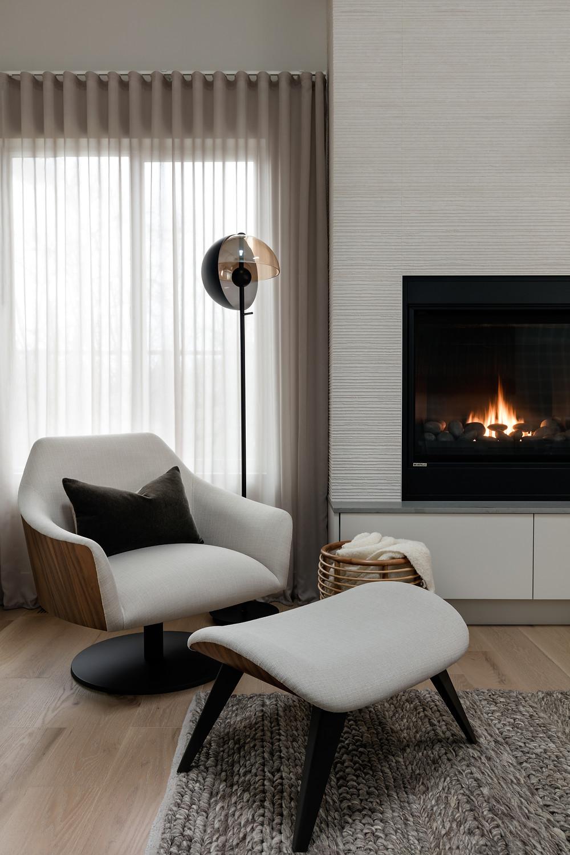 Warm Minimalism Living Room