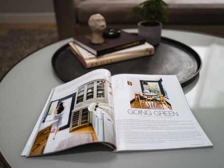 Our Modern Transformation Project was featured in Portrait Magazine!