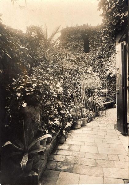 Cour du jardin