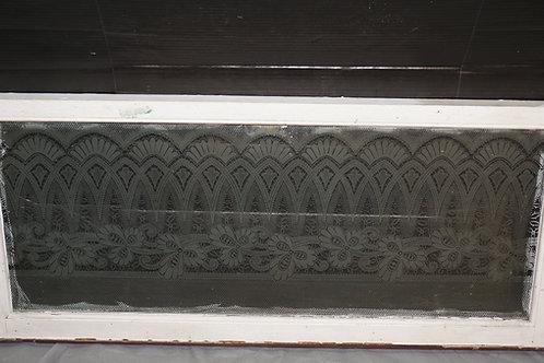 Lace Glass Window