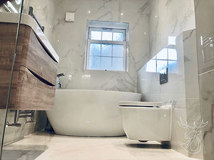 Bathroom refurbishment Hepscott, Northum