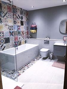 Family bathroom refurbishment Darras Hal