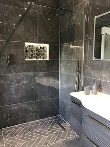 Wet room installation Hepscott.JPG