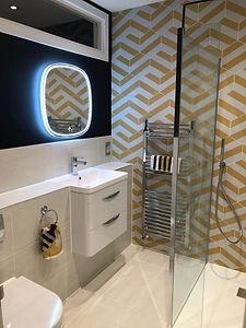 Ensuite shower room refurbishment Darras
