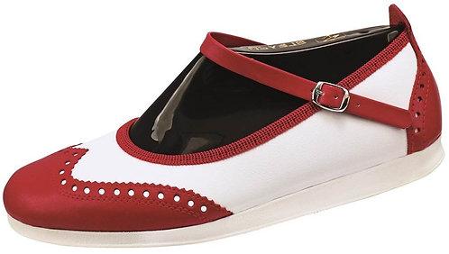 Bleyer Lindy Hopper BL7141 Red & White Size 38