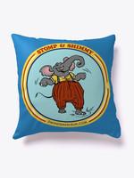 Stompin Eli Pillow Blue