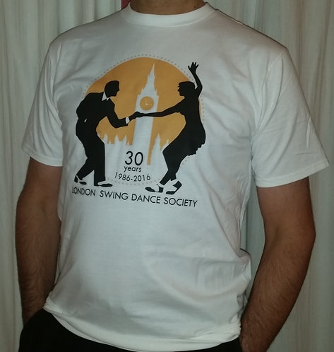 Limited Edition 30 Years Men's London Swing Dance Society T-Shirt