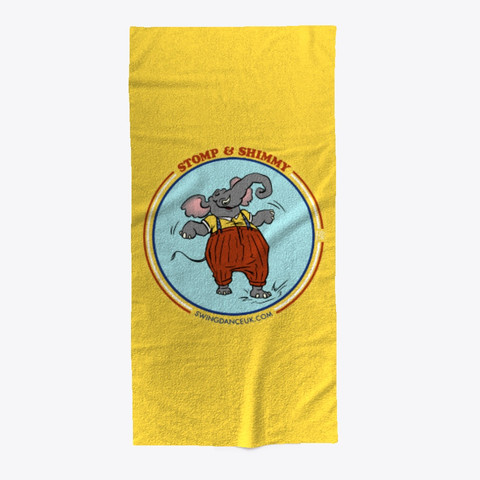 Stomin Eli Beach Towel Yellow
