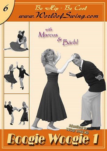 Boogie Woogie 1 Instructional DVD#6