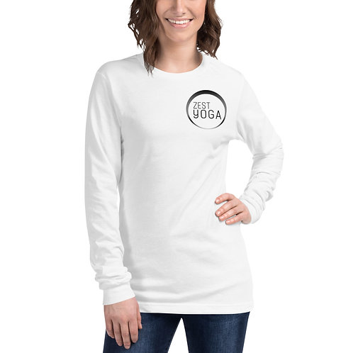 Unisex Long Sleeve Zest Yoga Tee