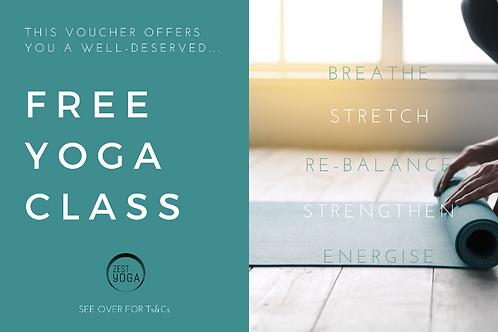 Zest Yoga Gift Card