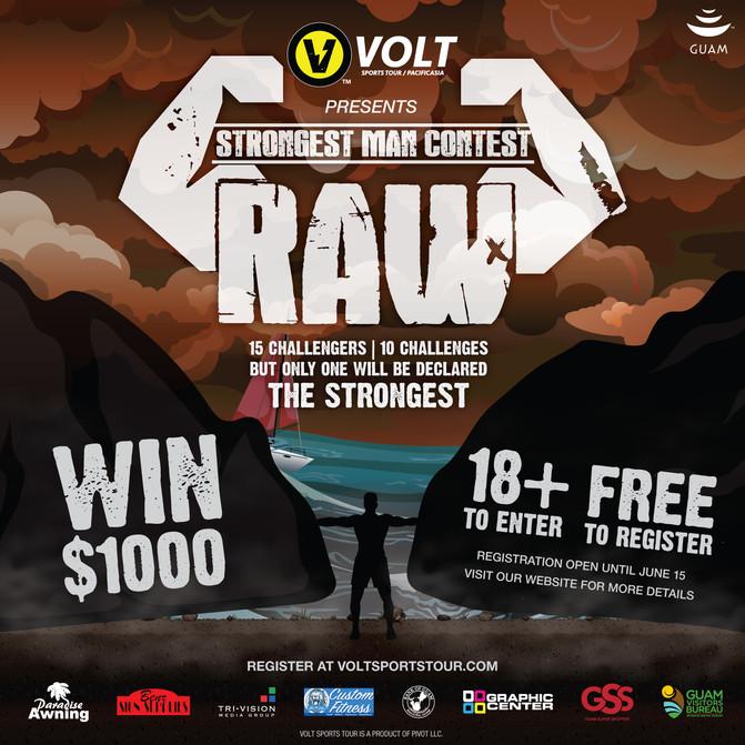 VOLT looking for Guam's Strongest Man!