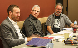A Crime Writers' Panel-Laukkanen, Carew and Mazzega-Dec 2014-Gallery