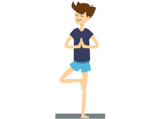 Yoga. For any age, any shape, anyone.