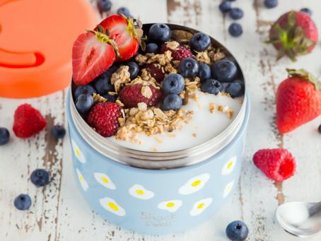 Healthy  lunch box ideas: