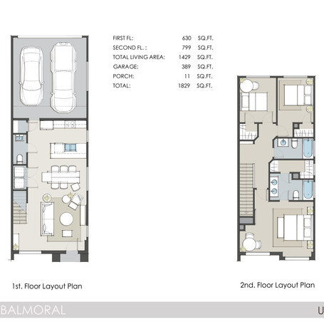 Clearwater Balmoral Floor Plan 1