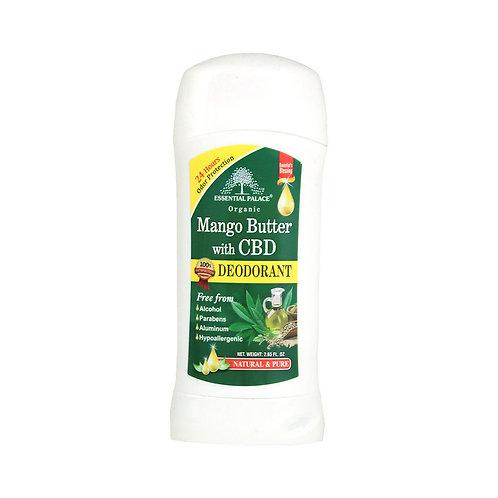 Natural deodorant- Mango butter w/ CBD