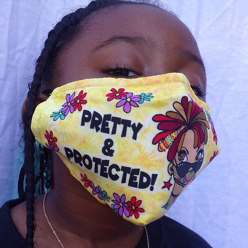 Pretty & protected masks