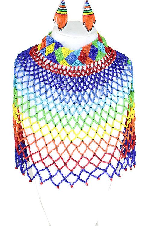 Kenyan Maasai necklace set