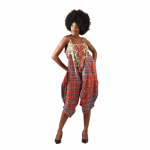 African bloomer jumpsuit