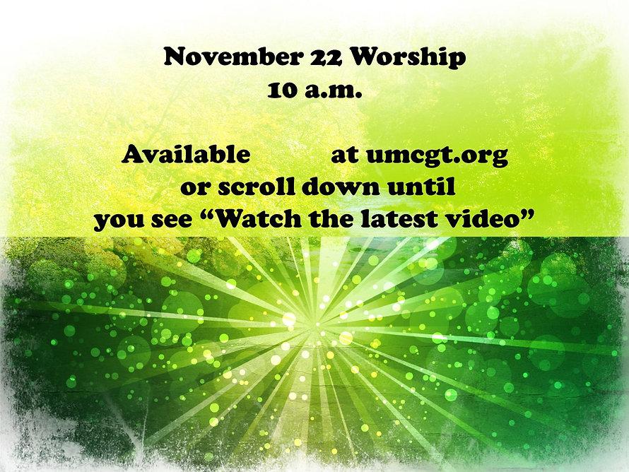 Nov. 22 Worship Announcement.jpg