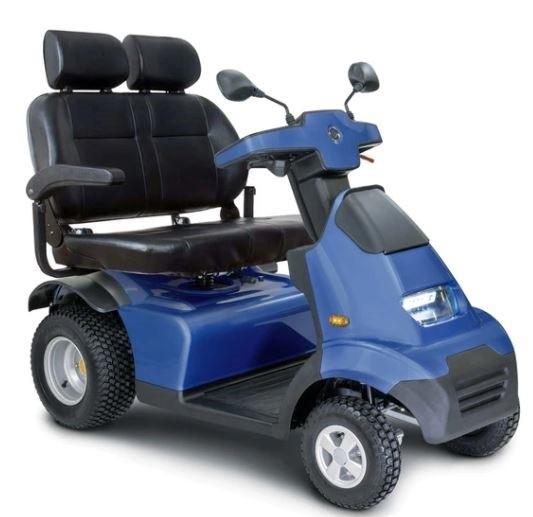 """AFIKIM S4 """"GT"""" (GOLF TIRE) WIDE SEAT."""