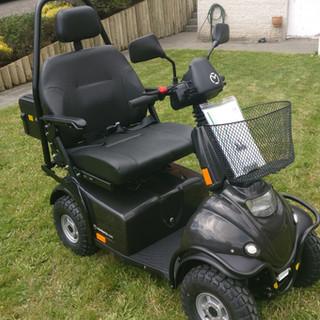 """Mini Crosser M1 """"HD"""" 250kg Black"""