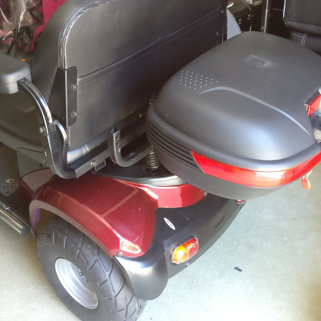 BLIZZARD L46 RED Lock up Rear Box