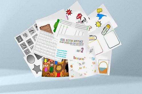 Özel Eğitime İhtiyacı Olan Çocuklar Set-2