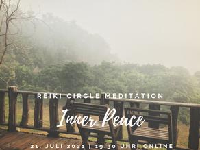 Online Reiki Circle Meditation | Inner Peace