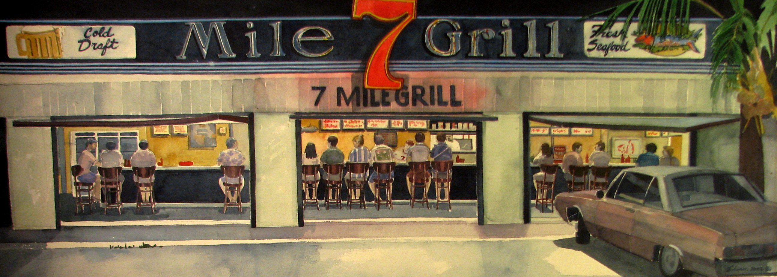 Keys Series: Seven Mile Grill