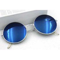 Óculos De Sol Redondo Retrô Lennon Ozzy Vintage Várias Cores 67154731e8