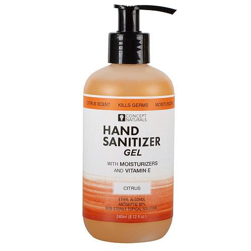 Concept Naturals Moisturizing Hand Sanitizer 8.12fl.o.z -Citrus Scented