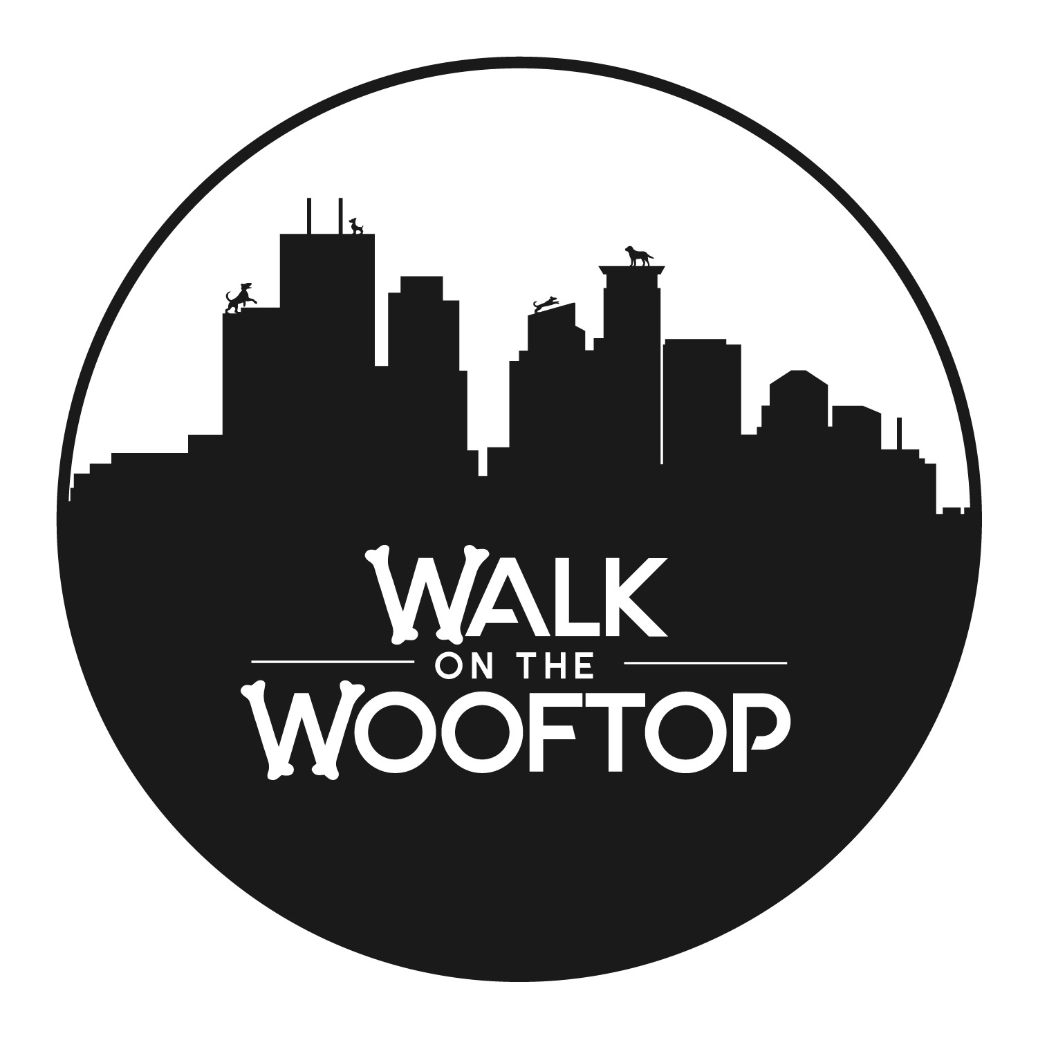 Logo for Dogwalk on the Rooftop