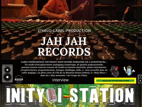 "INITY I STATION #250 focus ""JAH JAH RECORDS studio"""