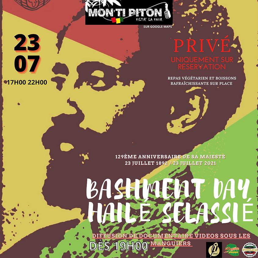 Bashment day Hailé Selassié 1er