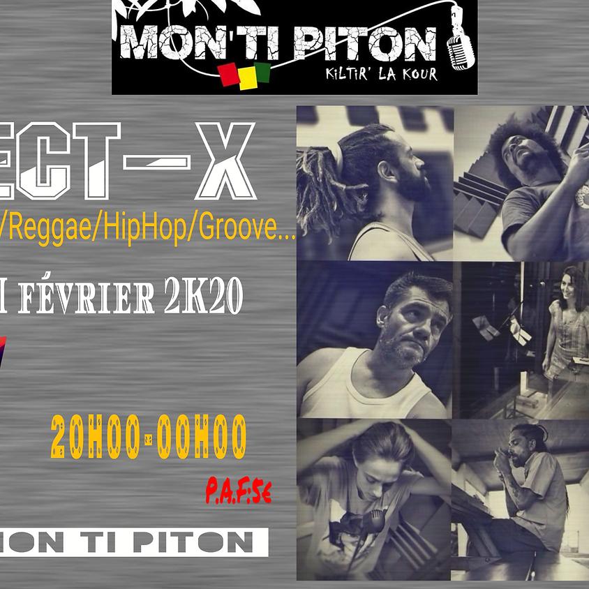 EKLECT-X au MON TI PITON