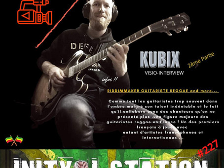 INITY I STATION #227 guest KUBIX ...