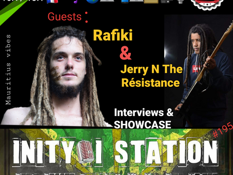 INITY-I STATION #196 RAFIKI & JERRY N the Résistance