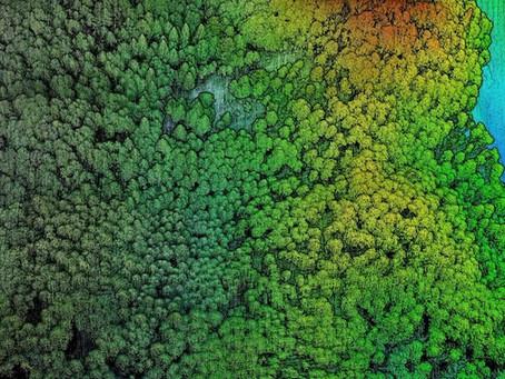 Drone Survey LIDAR: DSM, DTM dan Contour Mapping