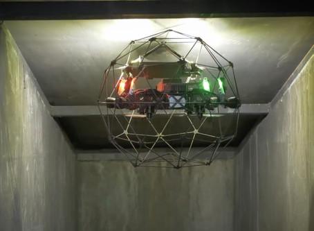 Photogrammetry Dengan Confined Space Drone Elios 2 Untuk Efisiensi Pengukuran Indoor Stockpile