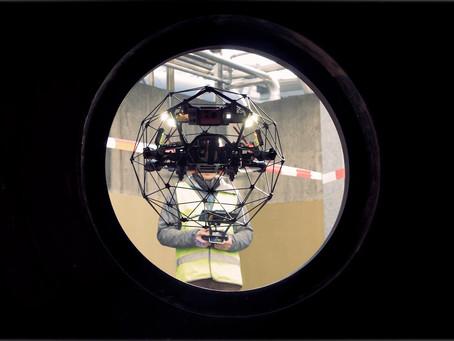 5 Manfaat Menginspeksi Saluran Pembuangan Dengan Confined Space Drone Elios 2