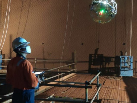 5 Keunggulan Confined Space Drone Elios 2 Untuk Operasional Tambang Yang Tidak Ada Pada Drone Lain