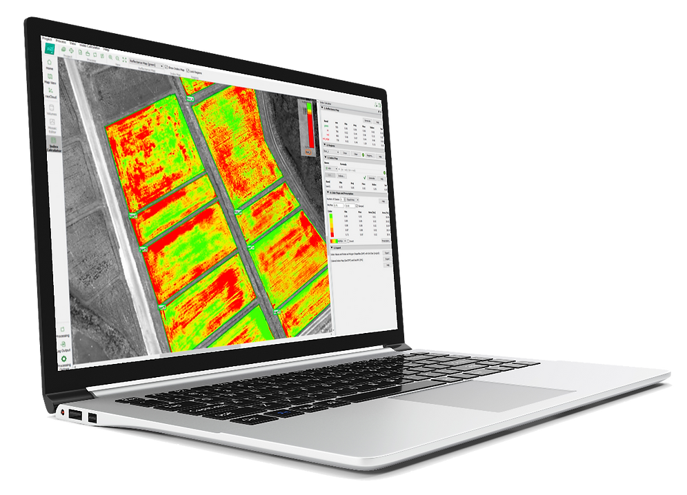 Pix4D Drone Survey and Mapping Software.