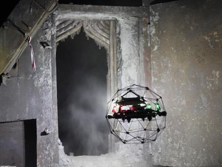 Confined Space Drone Elios 2 Menghilangkan Biaya Inspeksi Boiler Dan Powerplants Senilai 700 Juta