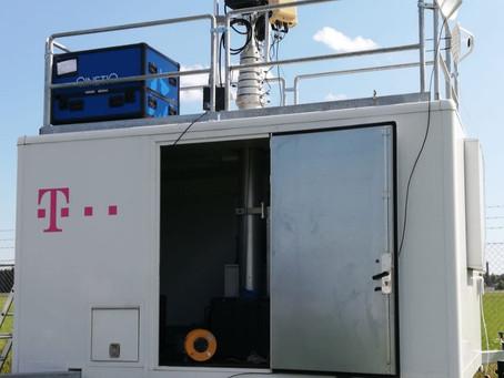 Uji Coba Antidrone Sentinel Untuk Sektor Telekomunikasi