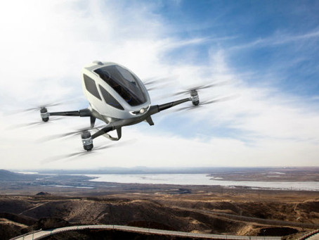Kendaraan Drone Taxi: Solusi Hentikan Kemacetan di Masa Depan