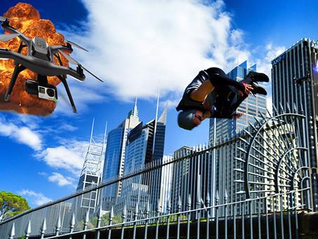 Drone 3D3 Solo VS Parkour, Siapa Lebih Unggul?