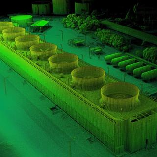 Cooling Tower As-Built LIDAR Scan